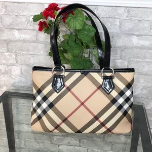 Authentic Burberry regent tote
